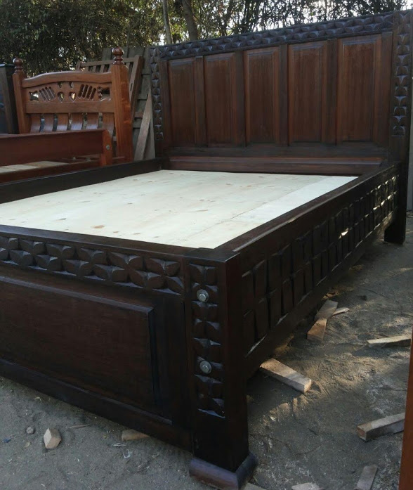 Oreo Mahogany Bed Beds Delivery Kenya